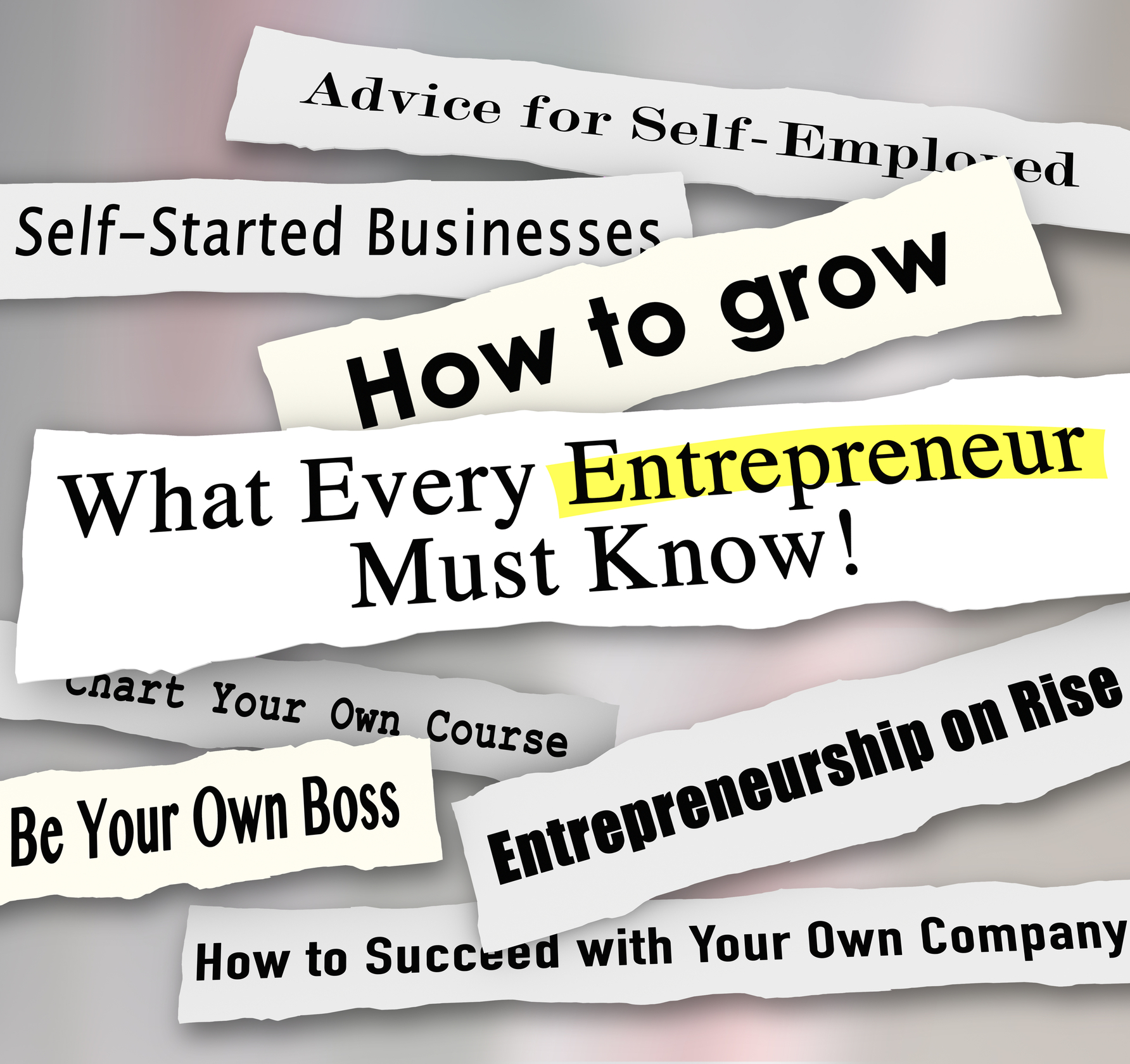 Start your own business become an entrepreneur training