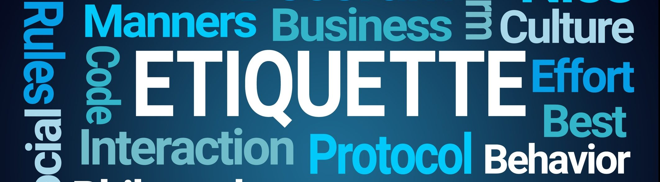 Business protocol and etiquette training