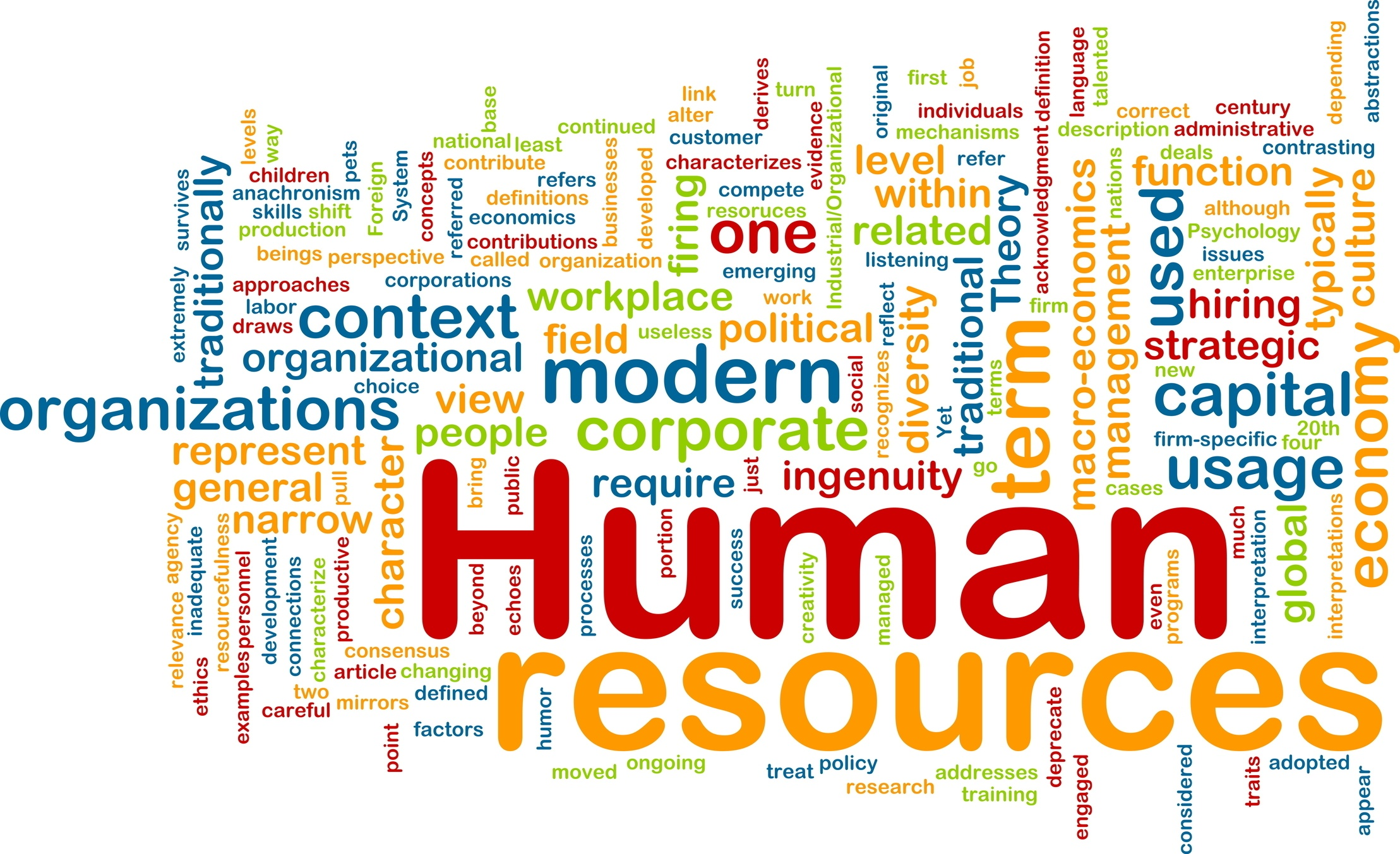 Human resources management and labour relations training