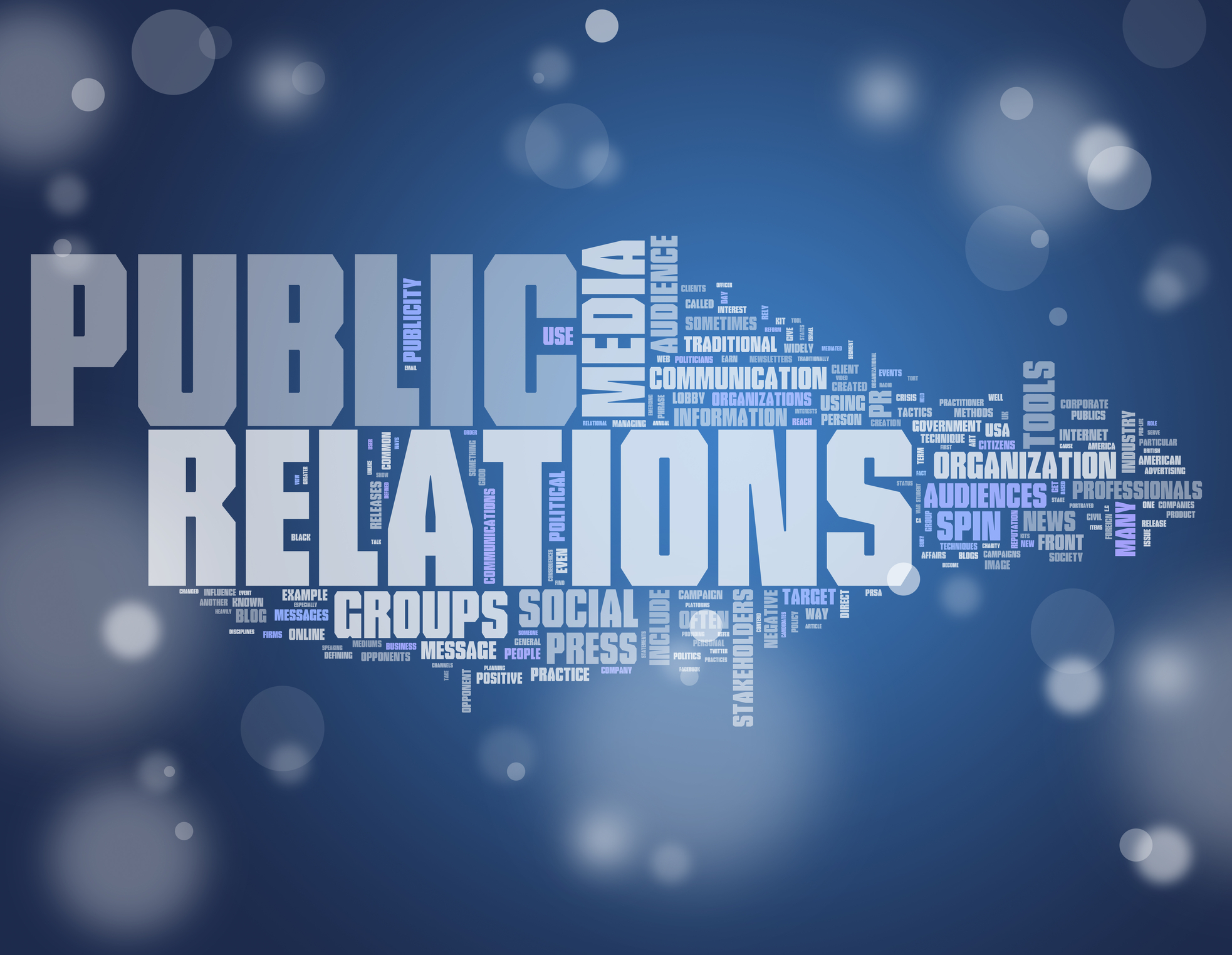 media and public relations training