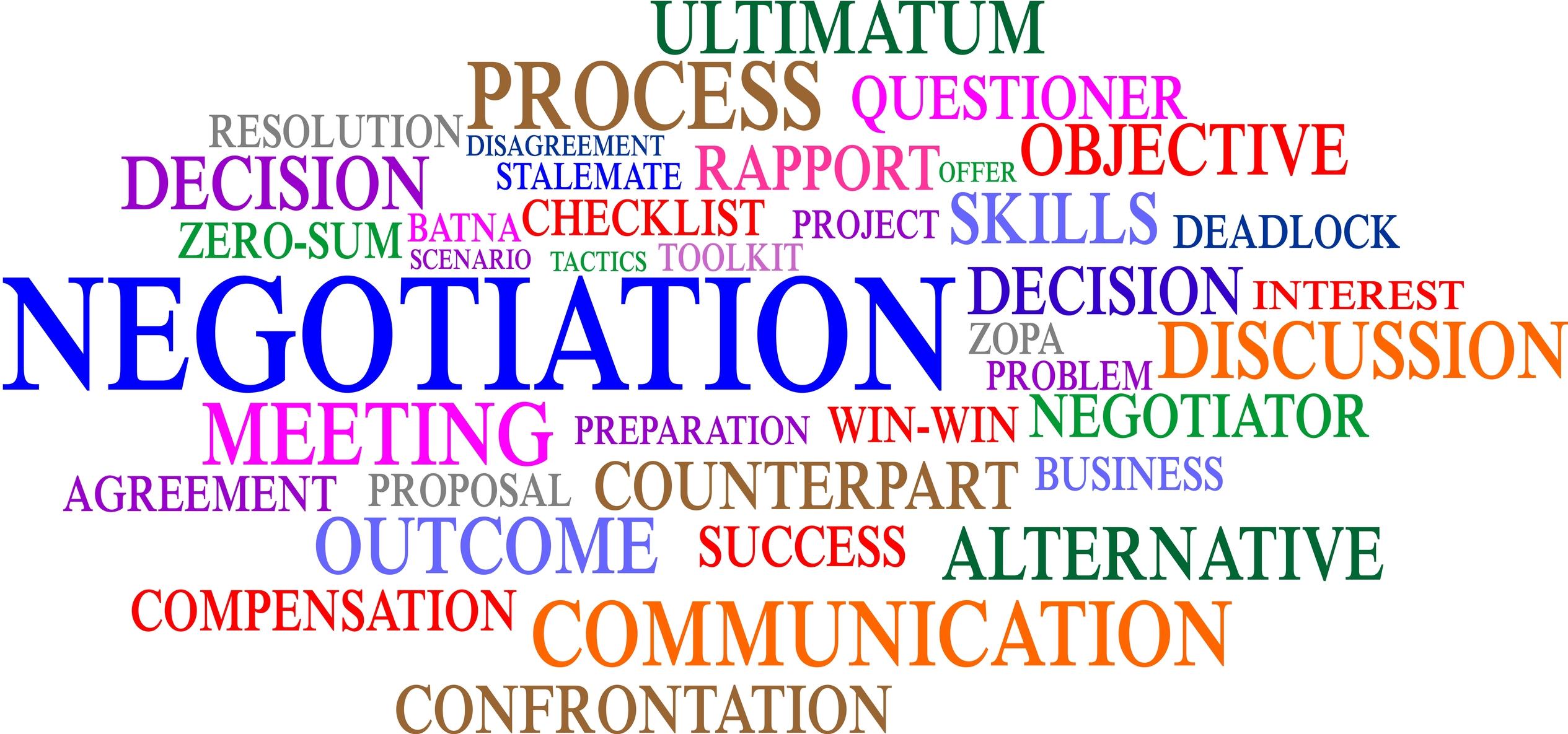 key negotiation skills training