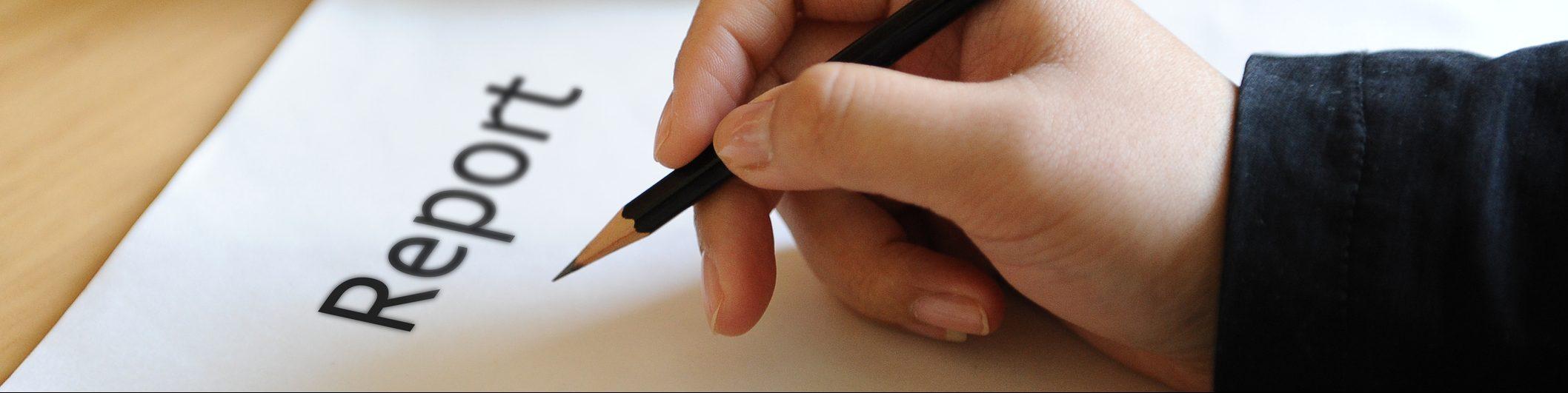 Professional report writing skills training