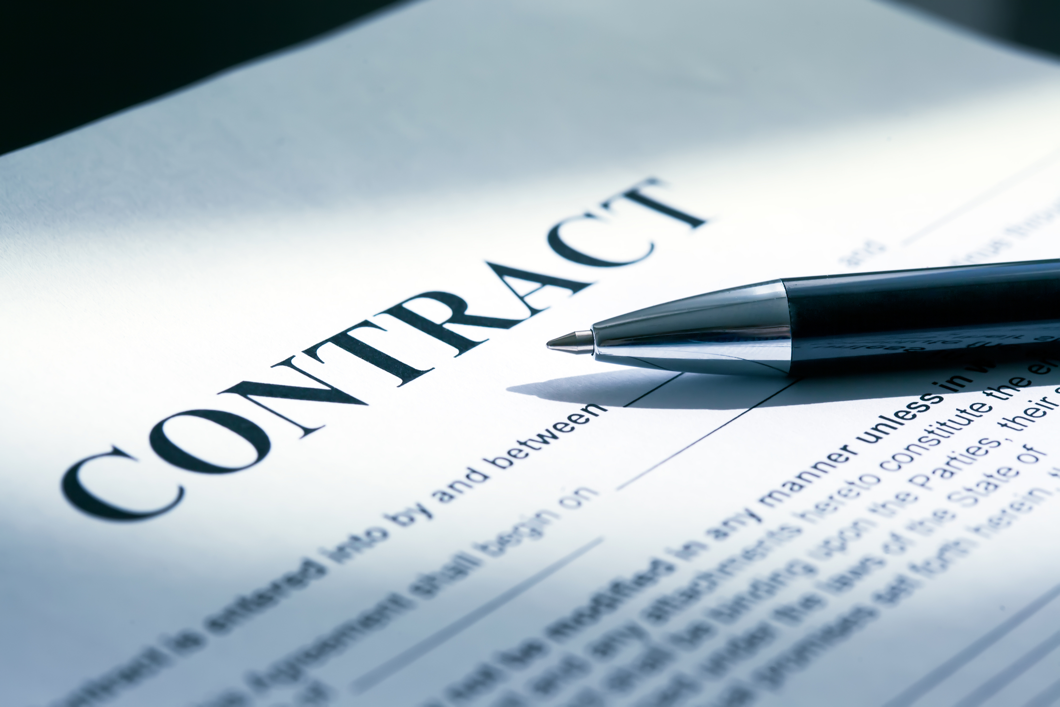 service level agreements and contracts